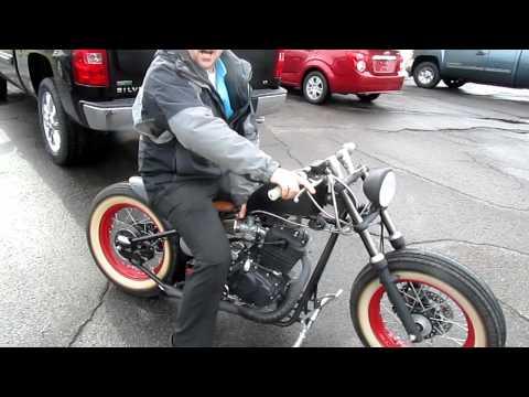 2010 Custom Built Motorcycles Bobber Mini-Bobber