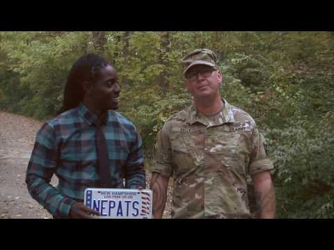 New England Patriots Shout out - Mr. Deion Branch and Maj. John Kelly