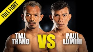 Tial Thang vs. Paul Lumihi | ONE Championship Full Fight