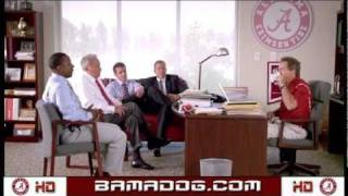 "2010 Nick Saban ""little Debbie"" Commercial For College Gameday"