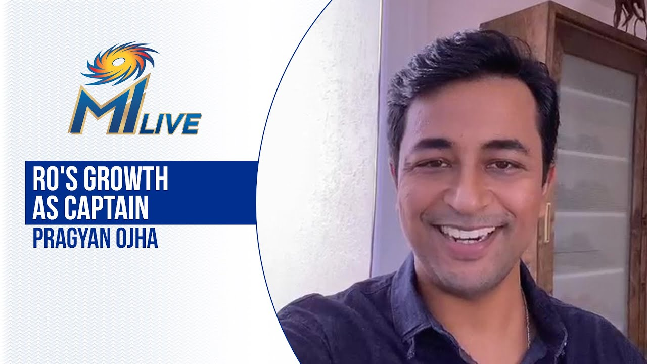 Pragyan Ojha on Rohit's growth as a Captain | कप्तान रोहित का विकास | Dream11 IPL 2020