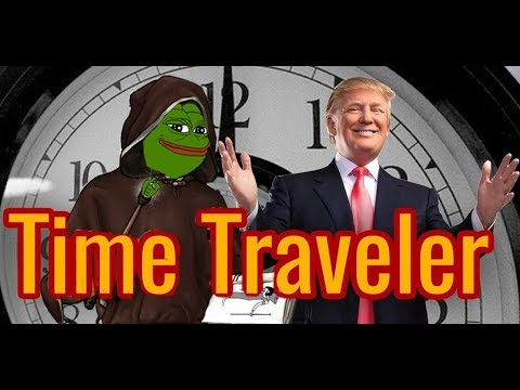 Donald Trump Time Travel Theory- Tesla, Barron Trump, Mike Pence and Meme Magic