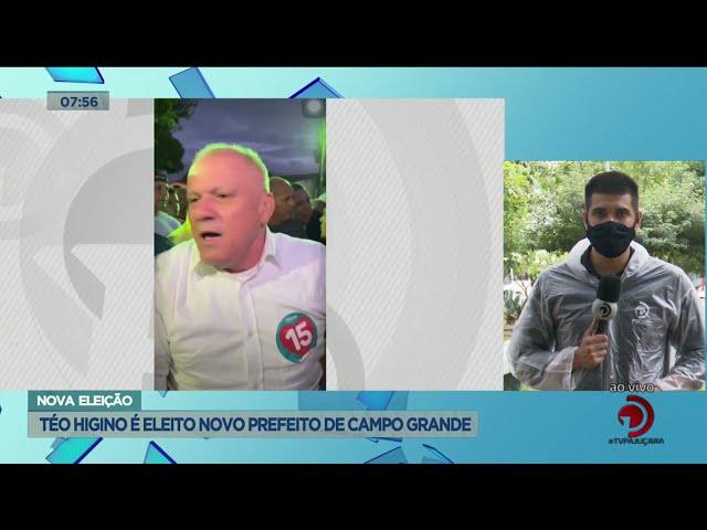 Nova eleição: Téo Higino é eleito novo prefeito de Campo Alegre