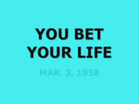 would you bet your life on You bet your life is the twenty-first episode of the fresh prince of bel-air's third season which was first broadcast on march 1, 1993.