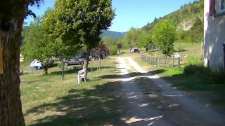 camping les Catoyes, Orpierre