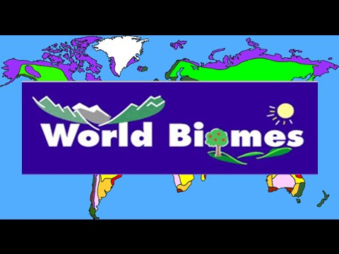Major Biomes of the World : For Kids - YouTube