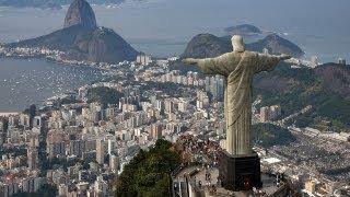 The World 5th Largest Statue Of Jesus - Jesus Christ In Rio De Janeiro, Brazil