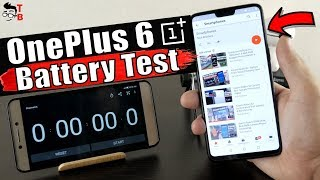 OnePlus 6 - Battery Drain Test & Charging Time