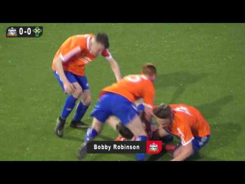 Ballymacash Rangers v Andersonstown Celtic - Under 16s Third Division Supp Cup Final - 5th May 2017