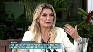 Antonia Fontenelle relembra como conheceu o diretor Marcos Paulo