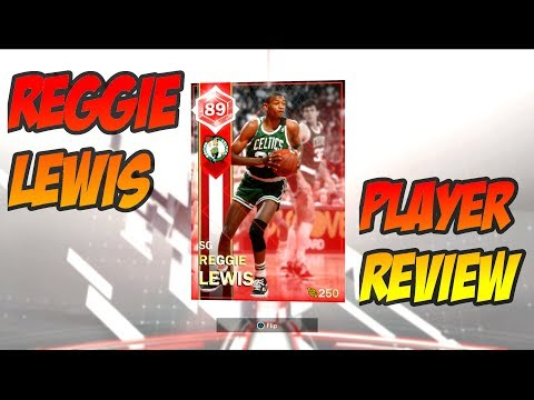 RUBY REGGIE LEWIS PLAYER REVIEW!! THE BEST RUBY SHOOTING GUARD IN NBA 2k18 MYTEAM