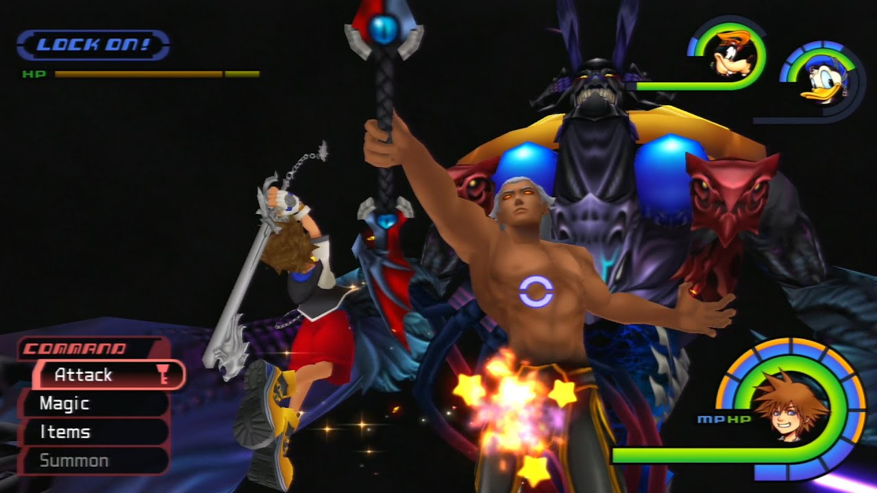 Final Boss Battle: Ansem! - Kingdom Hearts 1.5 HD Remix - YouTube
