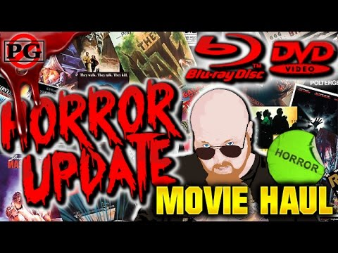 Horror Blu-Ray/DVD Collection Update (#39) & UV Giveaway