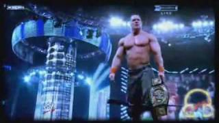 WWE JOHN CENA - Hero tribute 2010