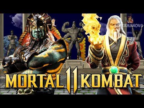 Mortal Kombat : Kotal Kahn & Shang Tsung Returning? & How To Pick Your Main Character (Q&A)