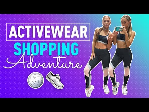 Activewear Shopping Spree! | The Rybka Twins