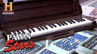 Pawn Stars: Keyboard Used by Three Dog Night (Season 7) | History