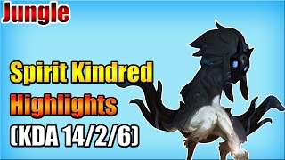 WE Spirit - Kindred vs Warwick - Jungle - Highlights (Oct 15, 2015)