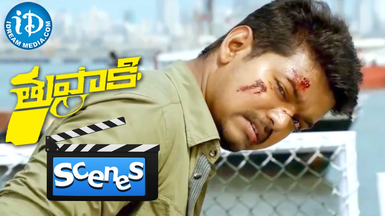 Download Thuppakki Movie - Vijay Fighting With Vidyut Jamwal || Climax Scene || Murugadoss || Harris Jayaraj