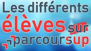 LES DIFFÉRENTS ÉLÈVES SUR PARCOURSUP - Wamida & MaxInk