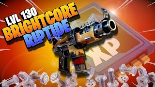 LVL 130 *RIPTIDE* BRIGHTCORE | Fortnite Save the World | Weapon Gameplay Review