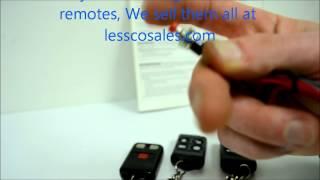Micro Alarm Remote Programming / MAS code learning