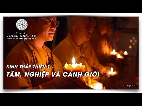 Kinh Thập Thiện 01: Tâm, nghiệp và cảnh giới (21/03/2012) Thích Nhật Từ