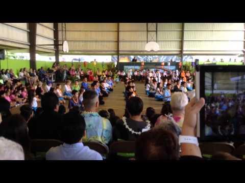 Nuuanu Elementary School May Day 2015