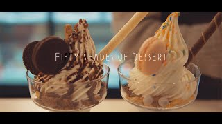 Fifty shades of Dessert🎁 | Aesthetic dessert cafe vlog | Cakes, Parfait, Coffee🙋‍♀️🙋‍♂️ | ASMR