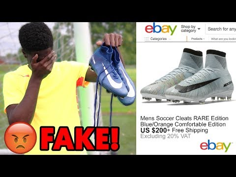 I GOT SCAMMED $300 FOR RONALDO FOOTBALL BOOTS