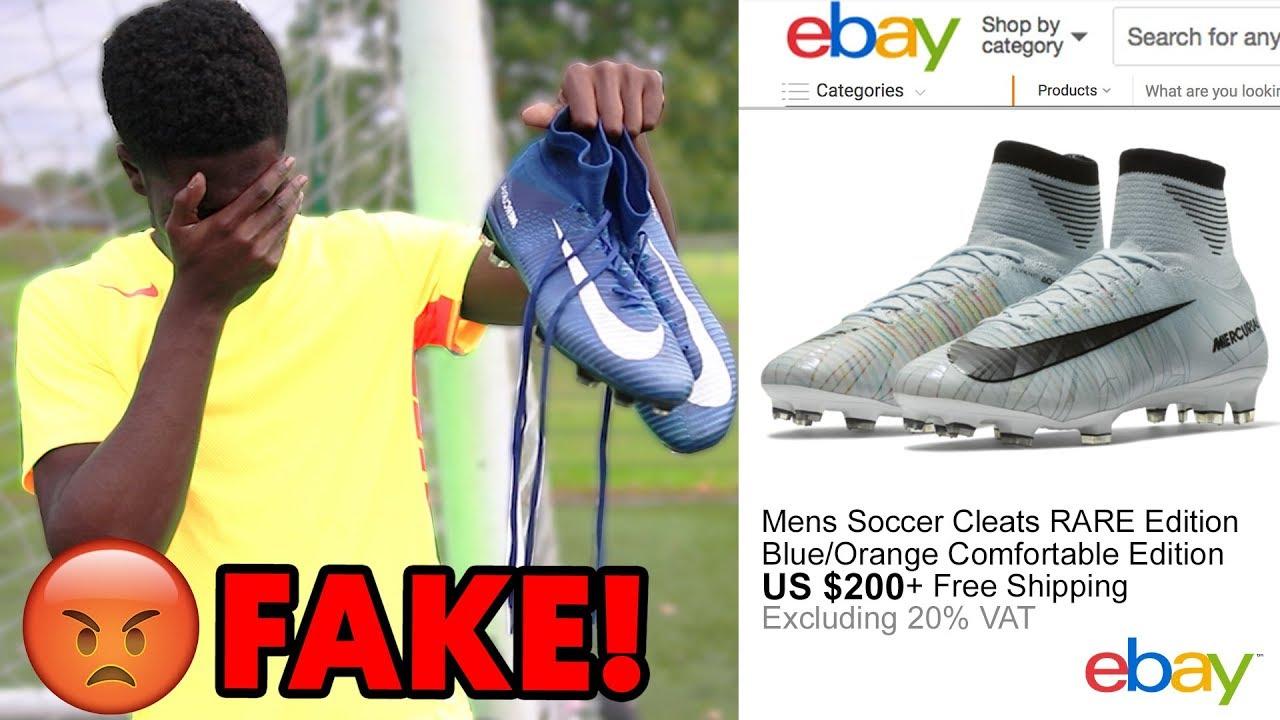 e00a043d293 I GOT SCAMMED $300 FOR RONALDO FOOTBALL BOOTS