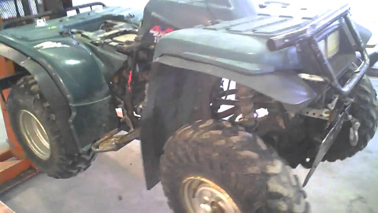 Yamaha Timberwolf 250 >> 1994 Yamaha Timberwolf 250cc ATV 4X4 - YouTube