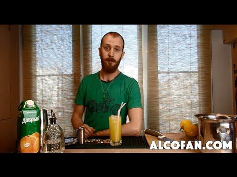 """Коктейль """"Отвертка"""" - рецепт водки с апельсиновым соком"""