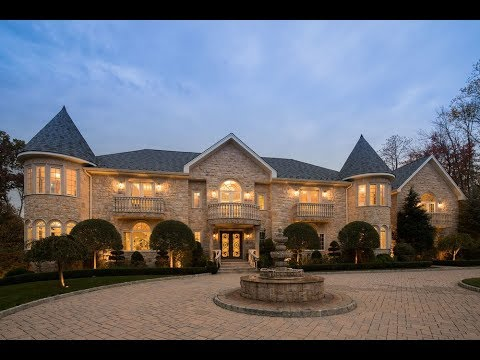 Massive Mega Mansion In New Jersey - 12 Years To Build - 33 Brams Hill, Mawah