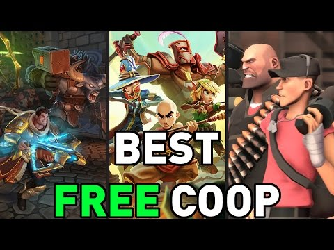 "TOP TEN ""FREE TO PLAY COOP GAMES"" BEST FREE GAMES FOR FRIENDS! 2017"
