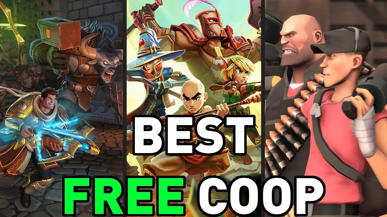 Free Co-Op Games for You and Your Friends