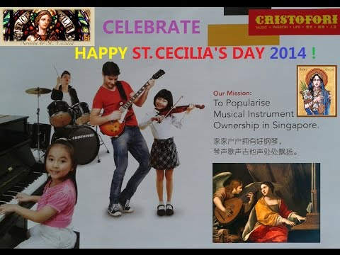 Cristofori Music Trailer celebrates St. Cecilia's Day 2014