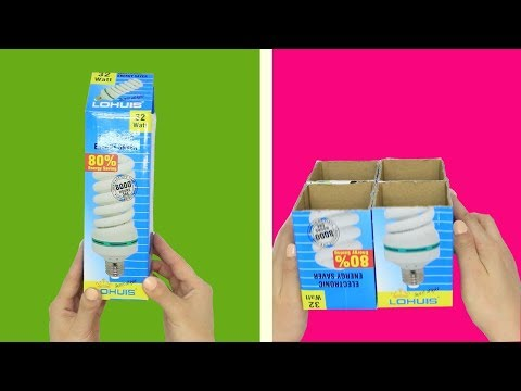 8 BRILLIANT DIYs YOU CAN MAKE FROM CARDBOARD BOXES