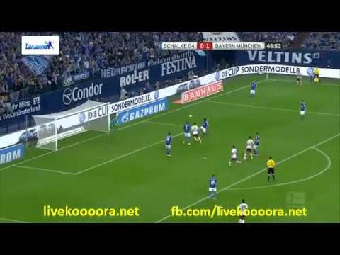 Schalke 04       vs Bayern Munich https://www.facebook.com/livekoooora.net  البث تابع للصفحه
