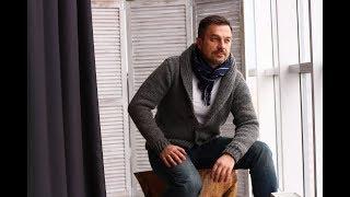 Анонс МК спицами по вязанию мужского жакета с шалевым воротником (платный МК)