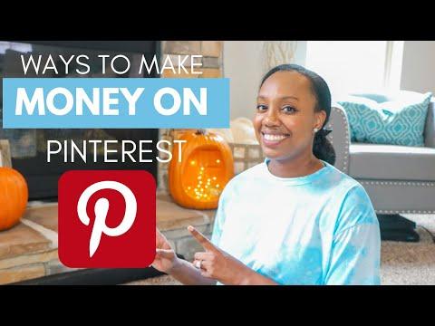 Ways to make money on Pinterest | GET PAID WITH PINTEREST Marketing