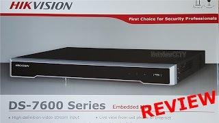 HIKVISION DS-7600 Series เครื่องบันทึก NVR ขั้นเทพ : [คันทรีรีวิว #11]