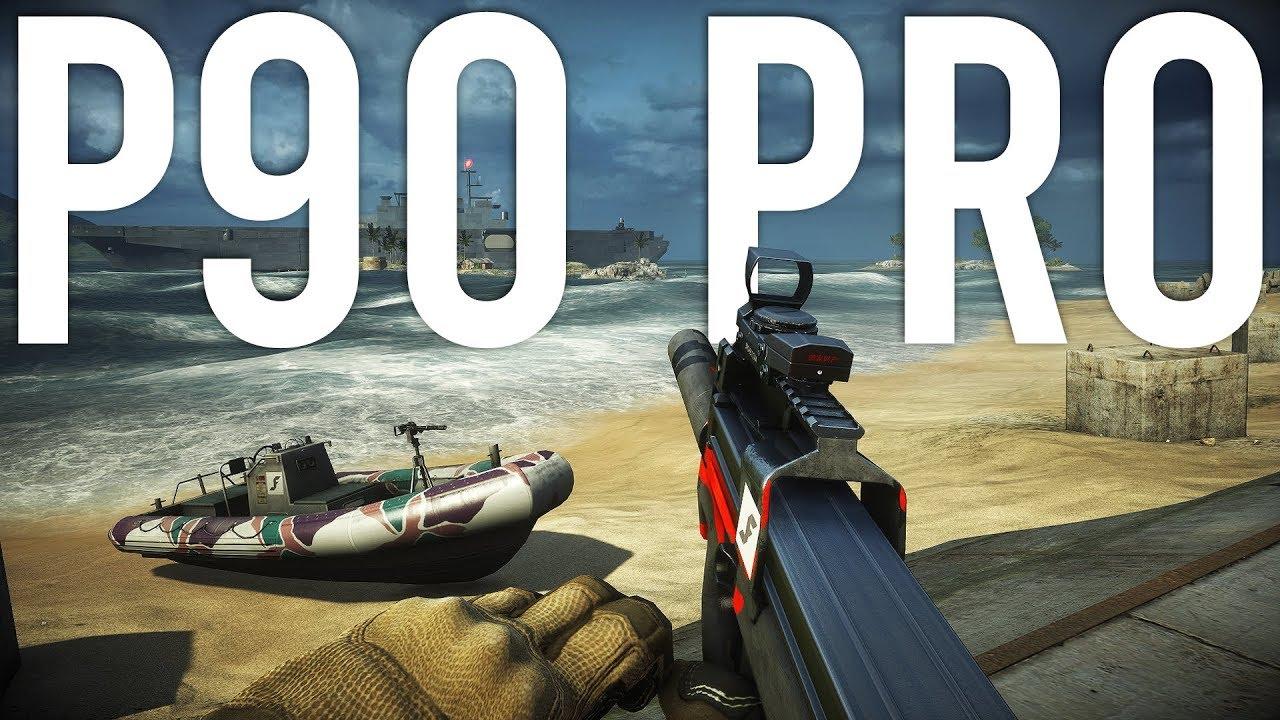 Battlefield 4 P90 Pro + vídeo