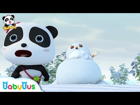 Run! A Snowman Monster | Baby Panda's Magic Bow Tie | Magical Chinese Characters | BabyBus