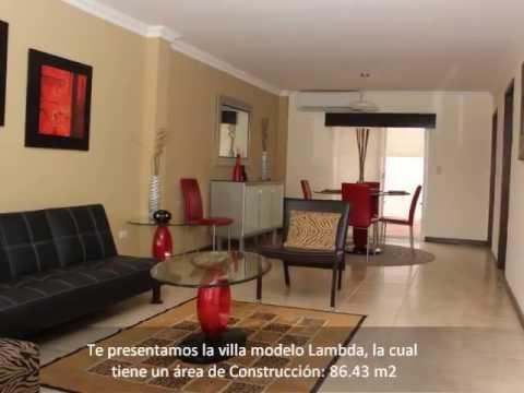 Villa club casas en guayaquil villa modelo lambda youtube for Modelos de casas procrear clasica