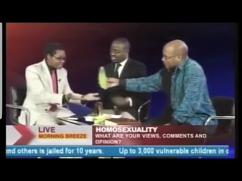 Gay People Use Gadgets Like Banana🍌 [MEME]funny Gay Activists Interview 2(Ugandan)