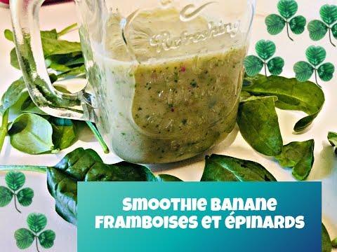 smoothie-banane-framboise-et-épinard-!-(weight-watchers)