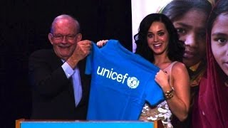 Sexy Katy Perry ist neue UNICEF-Botschafterin