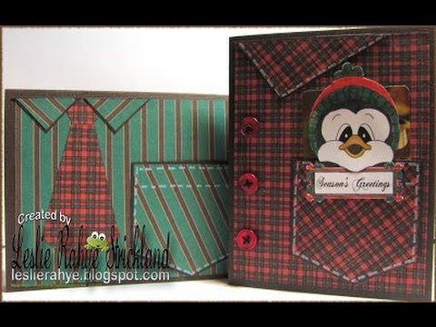 Gift Card Holder Men's Shirt Cards YouTube