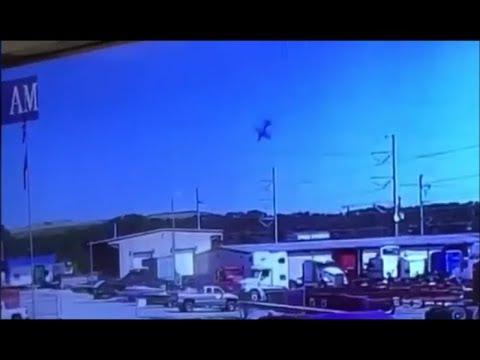Air disaster С-130 military plane crash in Savanna USA Катастрофа C-130 в США видео падения